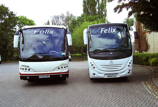 Coach and Taxi Hire, Sudbury, Suffolk