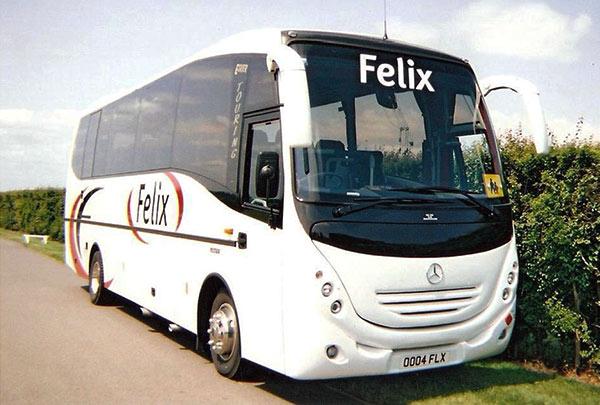Coach and Taxi Hire, Sudbury, Suffolk
