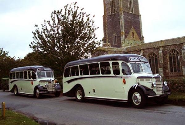 Vintage Coach Hire, Sudbury, Suffolk