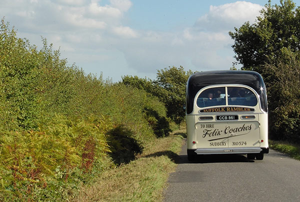 Vintage Coach Hire, Sudbury, Suffolk - Felix Coaches