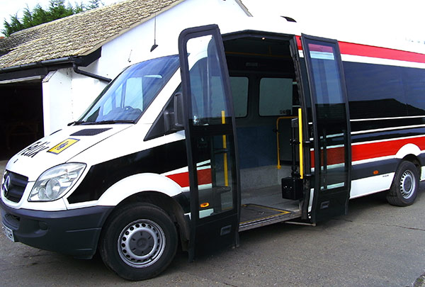 Wheelchair Accessible Coaches Sudbury Suffolk